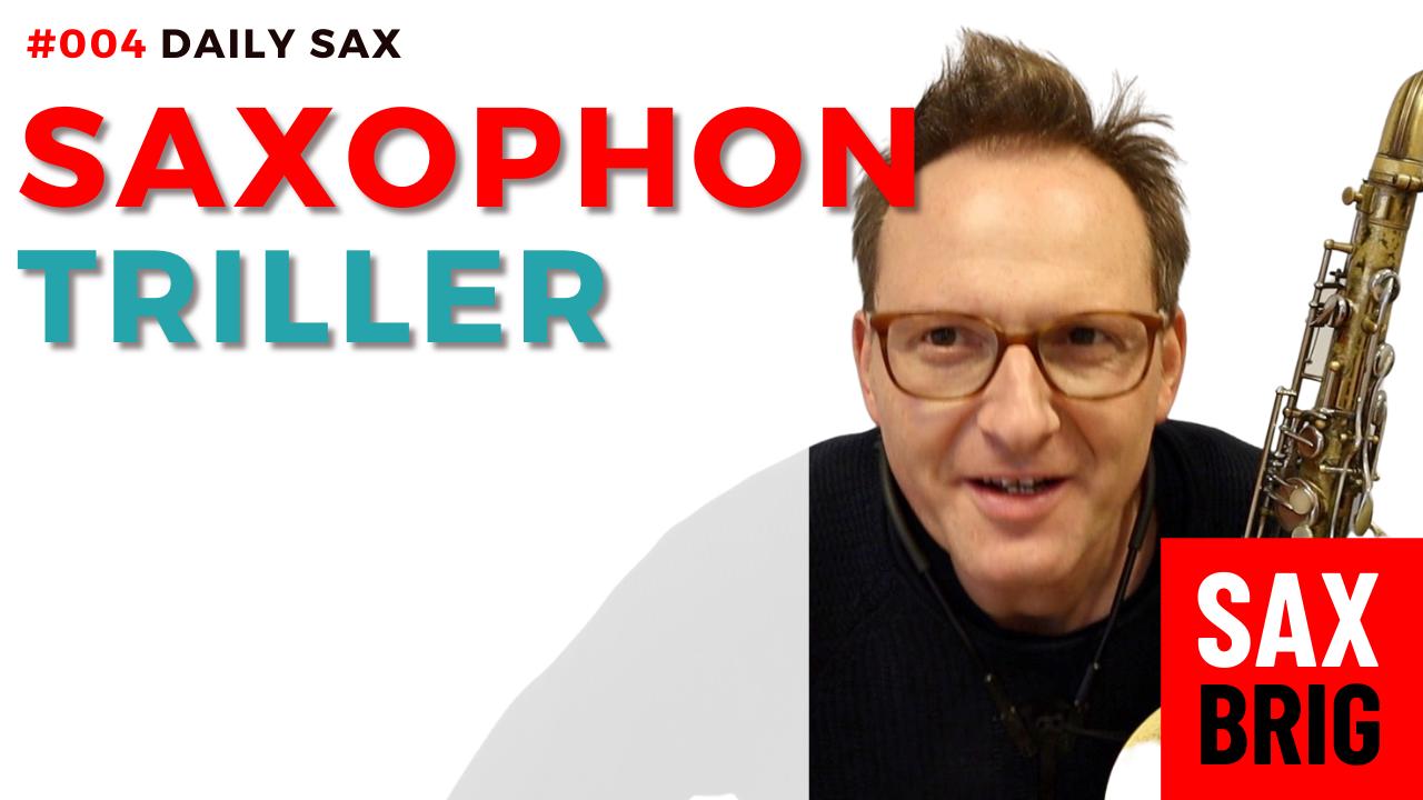 Triller saxophon